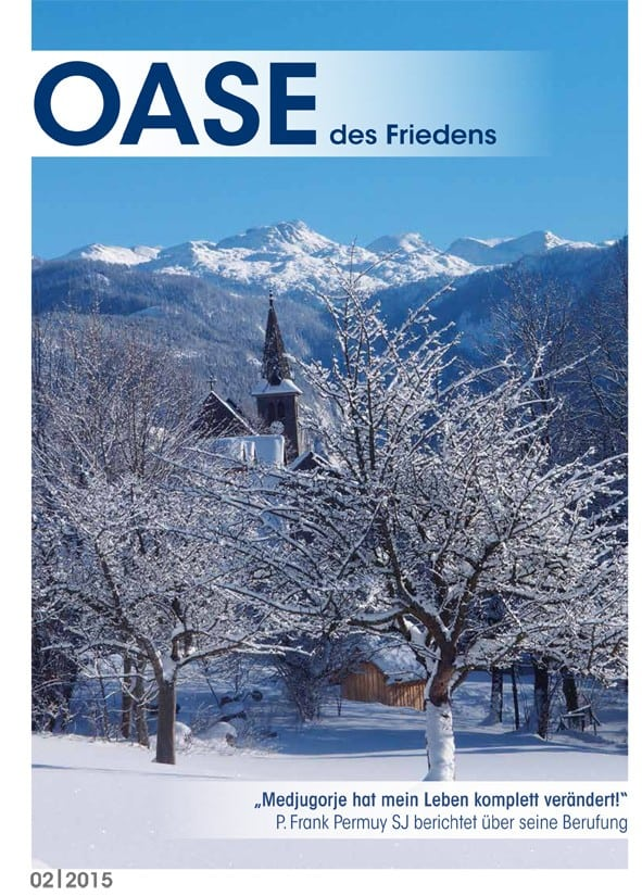 Cover Oase 02/2015