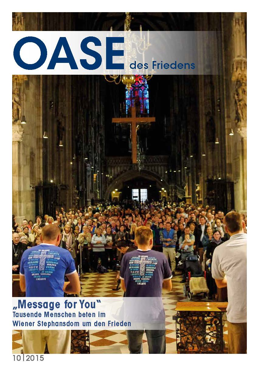 Cover Oase 10/2015