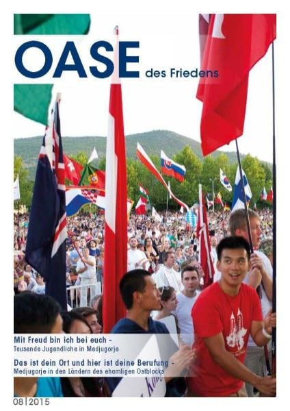 Cover Oase 08/2015